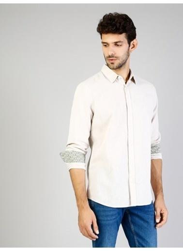 Colin's Uzun Kollu Gömlek Gri